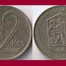 CZECHOSLOVAKIA 1980 2 KORUNY KCS COIN KM#75 Europe
