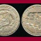 DOMINICAN REPUBLIC 1984 25 CENTAVOS Commemoration COIN KM#61 Caribbean