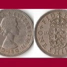 England Great Britain UK 1955 1 Shilling Coin KM#905 - Scottish Coat of Arms
