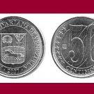 VENEZUELA  2007 50 Centimos COIN Y#92 South America - UNC - BEAUTIFUL!