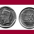 VENEZUELA  2004 500 Bolivares COIN Y#94 South America - UNC - BEAUTIFUL!