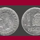 SPAIN 1984 1 PESETA COIN KM#1041 Europe - King Juan Carlos I