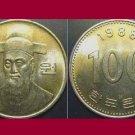 SOUTH KOREA 1988 100 WON COIN KM#35.2 Asia - Admiral Lee Soon-shin