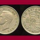 England Great Britain UK 1948 Half Crown KM#866 Europe - King George VI