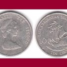 EAST CARIBBEAN STATES 1996 10 CENTS COIN KM#4 Galleon Ship