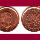CANADA 2011 1 CENT COIN KM#490 North America
