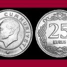 TURKEY 2011 25 KURUS COIN KM#1242 Eurasia - Mustafa Kemal Ataturk - BU - BEAUTIFUL!