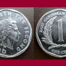 EAST CARIBBEAN STATES 2008 1 CENT COIN KM#34 - AU - BEAUTIFUL!