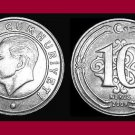 TURKEY 2009 10 KURUS COIN KM#1241 Eurasia - Mustafa Kemal Ataturk - BU - BEAUTIFUL!