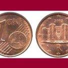 ITALY 2002 1 EURO CENT COIN KM#210 Europe - Castel del Monte