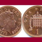 England United Kingdom Great Britain UK 2008 1 PENNY COIN KM#986 - BU - BEAUTIFUL!