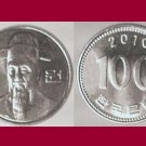 SOUTH KOREA 2010 100 WON COIN KM#35.2 Asia - UNC - AU - BEAUTIFUL!