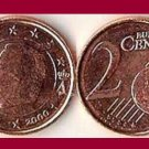 BELGIUM 2000 2 EURO CENTS COIN KM#225 Europe