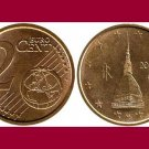 ITALY 2010 2 EURO CENTS COIN KM#211 Europe - Mole Antonelliana
