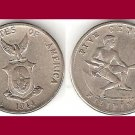 PHILIPPINES 1944 (S) 5 CENTAVOS COIN KM#180a WWII US Administration - XF BEAUTIFUL!