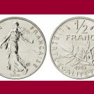 FRANCE 1983 1/2 HALF FRANC COIN KM#931.1 Europe - BU, BEAUTIFUL!