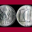 CZECHOSLOVAKIA 1990 10 HALERU COIN KM#80 Europe - BU - BEAUTIFUL!