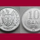 MOLDOVA 2006 10 BANI COIN KM#7 Eastern Europe