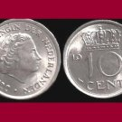 NETHERLANDS 1967 10 CENTS COIN KM#182 Europe - BU - Very Shiny! Beautiful!