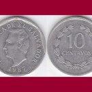 EL SALVADOR 1987 10 CENTAVOS COIN KM#155 Central America - BU - BEAUTIFUL!