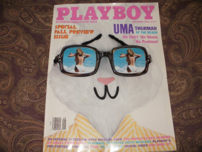 Playboy September 1996 - Good Condition - Uma Thurman
