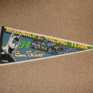 NASCAR Thunderbat Bill Elliott McDonald's Banner Flag - Limited Edition Design 4of4 Rare