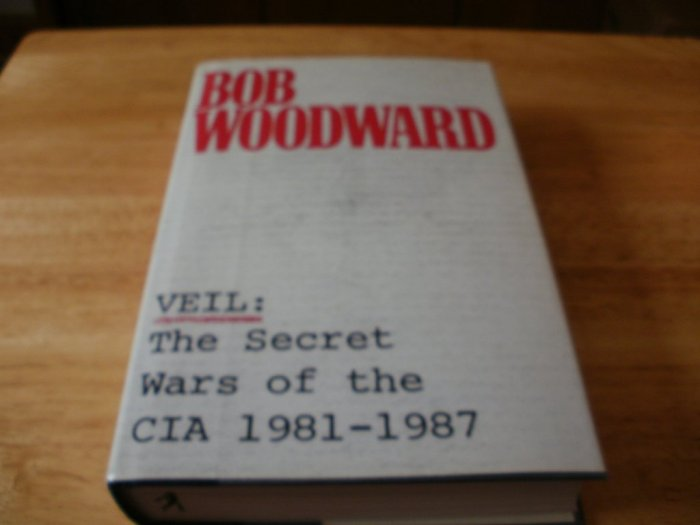 Veil - Hardcover Bob Woodward (1994) - Excellent Condition