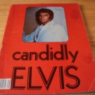 Candidly Elvis - Paperback Anje Publishing (1978) - Rare Elvis Pictures - Good Condition