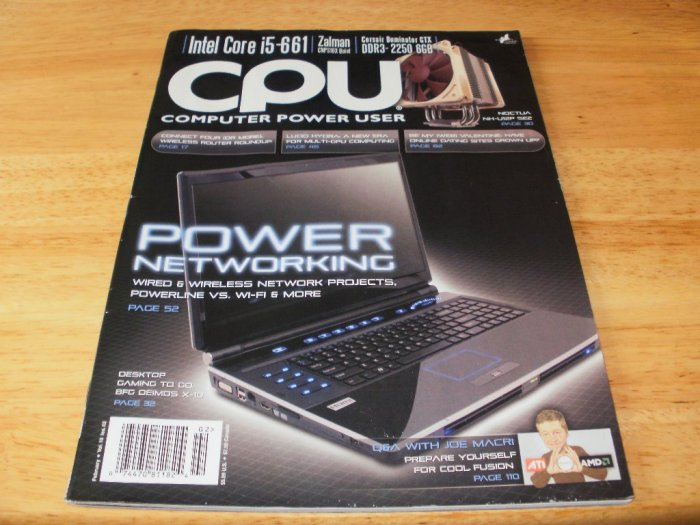 Computer Power User - Magazine February Vol 10 Issue 2