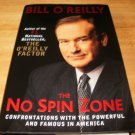 The No Spin Zone - Hardcover, Bill O'Reilly (2003)