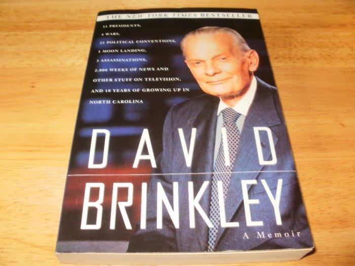 David Brinkley: A Memoir - Paperback, David Brinkley (1996)