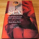 America's War on Sex - Hardcover, Marty Klein (2008)