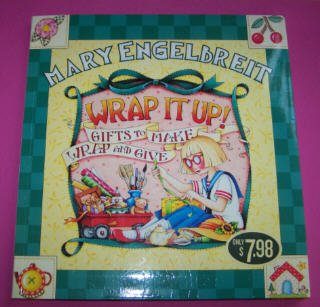 "Mary Engelbreit ""Wrap it Up! Gifts to Make Wrap and Give"" softcover pub. Meredith Books 2004 *NEW*"