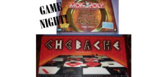 Lord of the Rings Monopoly Game AND Chebache(backgammon chess checkers) NEW in package