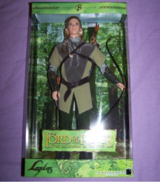 New Ken Doll as Legolas in the Lord of the Rings: Fellowship of the Ring Barbie collector NIP