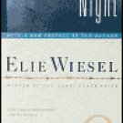 Night by 1986 Nobel Peace Prize winner Elie Wiesel used in good condition