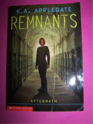 Remnants #12 Aftermath by K.A. Applegate RL 5 Scholastic