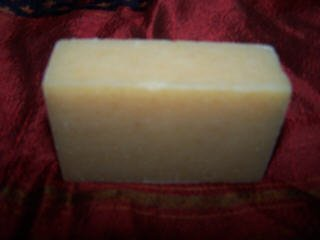 Honey scented handmade soap EXFOLIATES Organic oils