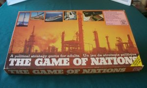 The Game Of Nations by Waddingtons 1974. Complete.