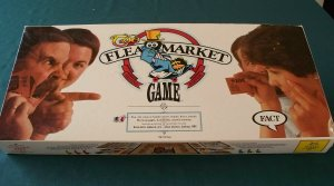 The Flea Market Game by Fact Games 1986 Complete VGC