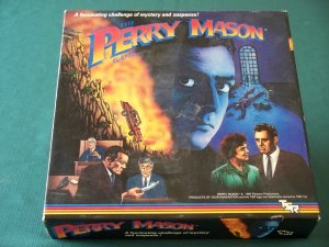 Perry Mason Game by TSR 1987  Complete VGC