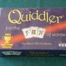 Quiddler Short Word Game Set Enterprises NIB Sealed