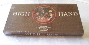 High Hand Game E S Lowe 1984 NIB Sealed
