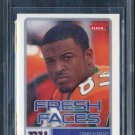 2006 Fleer Fresh Faces #FRSM SINORICE MOSS RC BGS 9.5