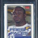 2006 Fleer Fresh Faces #FRJA JOSEPH ADDAI RC BGS 9.5