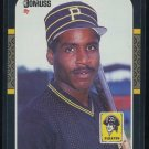 1987 Donruss #361 BARRY BONDS RC Pirates, Nice