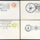 1980s Wichita, Kansas Event Cancel Postal Card Lot