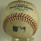 2008 Red Sox vs Indians Game Used MLB Baseball, Steiner