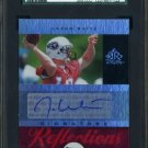 2005 UD Reflections JASON WHITE Auto RC SGC 98 Heisman