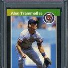 1989 Donruss #180 ALAN TRAMMELL Card PSA 10 Tigers